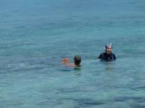 Mel snorkelling
