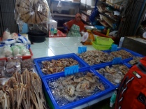 Different types of seafood to buy