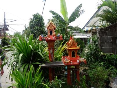 The spirit houses