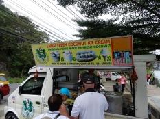 coconut Ice-cream van