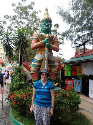 At the Big Buddha site