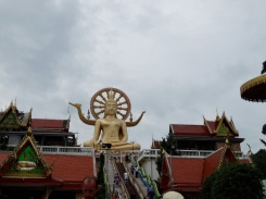 Looking up to the Big Buddha