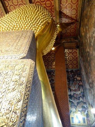 The start of the reclining Buddha